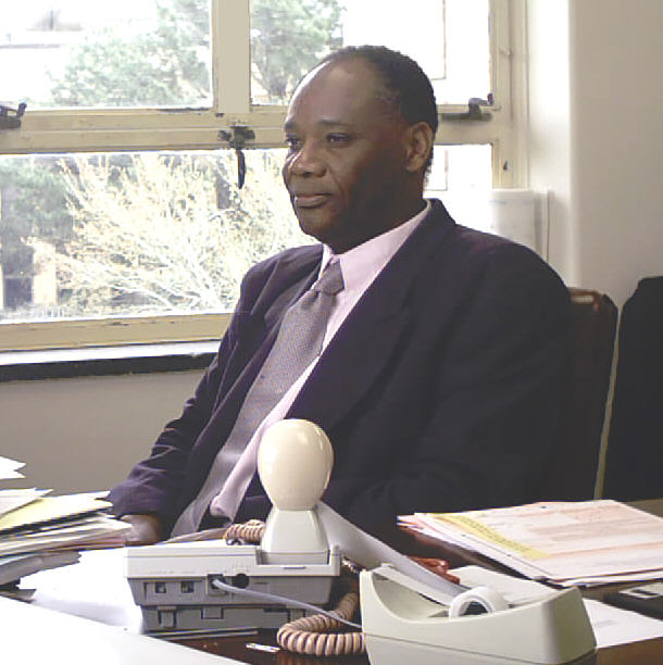 Dr. Pius Ngandu, executive Director of the CFFS